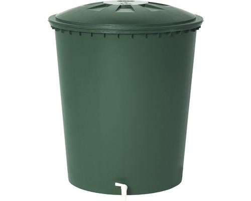 Regentonne rund mit Deckel, 510 Liter