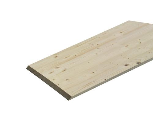 Panneau en bois d'épicéa lamellé-collé B 800x300x18 mm