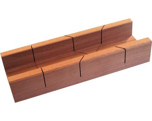 Präzisions-Gehrungslade Holz 350 mm