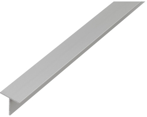 T-Profil Aluminium silber 15x15x1,5 mm, 1 m