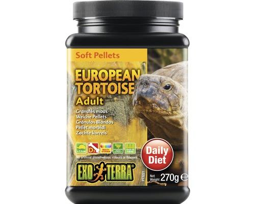 Exo Terra Soft Pellets, europäische Schildkröte, 270 g