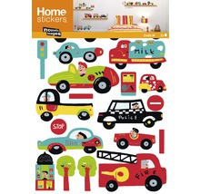 Tatouage mural Sticker Kids-Cars 49.5 x 69.5 cm