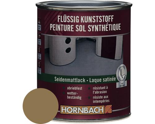 Flüssigkunststoff seidenmatt braunbeige 750 ml