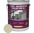 Peinture pour ciment peinture pour sol gris clair 5l