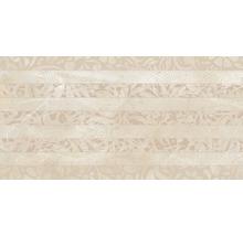 Dekorfliese Crema Marfil beige 34x67 cm