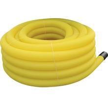 Drainagerohr gelb gewellt NW 100 Länge 50 m