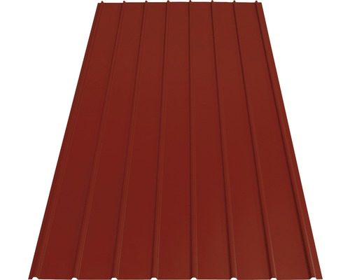 PRECIT Trapezblech H12 brown red RAL 3011 2000 x 910 x 0,4 mm