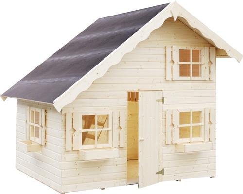 Cabane de jeux Tom, 220 x 180 x 228cm, bois naturel