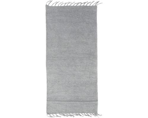 Tapis chenille Chenille gris 60x120cm