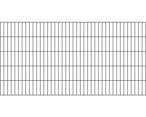 Doppelstabmatte 200x80 cm anthrazit