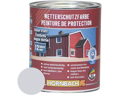 Holzfarbe Wetterschutzfarbe silbergrau 750ml
