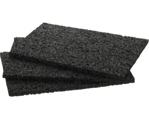 Konsta Ausgleichspad schwarz 90x60x3 mm (60 Stk.)