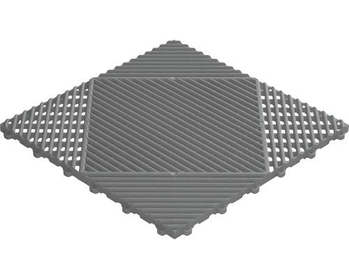 Kunststofffliese florco classic 40x40 cm grau