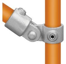 Pièce d'articulation raccord de tube d'échafaudage en acier Ø 33 mm