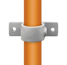 Bague de fixation avec bride pour tube d'échafaudage en acier Ø 33 mm