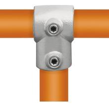 Pièce en T courte raccord de tube d'échafaudage en acier Ø 33 mm