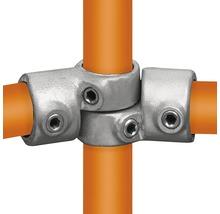 Articulation d'angle raccord de tube d'échafaudage en acier réglable Ø 33 mm