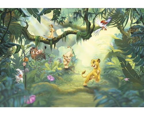 Fototapete Disney Edition 2 LION KING JUNGLE 368x254 cm