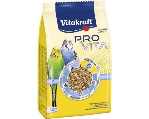 Vogelfutter Vitakraft Pro Vita® Sittiche, 800g