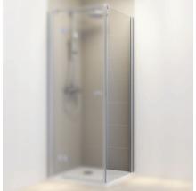 Seitenwand für Drehtür Schulte MasterClass 90 cm rechts Klarglas hell chromoptik