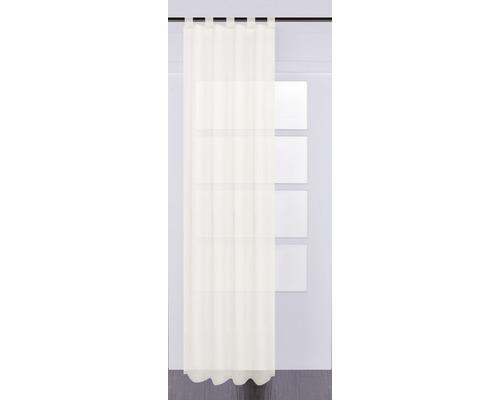 Voile à passants Effecto crème 130x245 cm