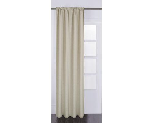 Rideau Silk off taupe 130x280 cm