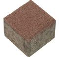 Rasengitterfüllstein rot 8.3x8.3x8 cm
