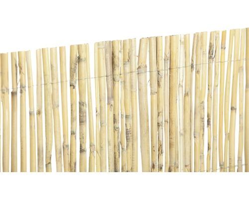 Sichtschutzmatte Bambus gespalten 100x500 cm